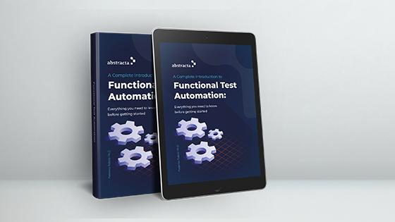 E-book introducción a la automatización de pruebas funcionales