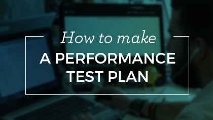 performance test plan graphic