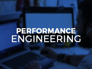 Performance Engineering brochure graphic