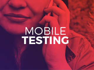 Mobile Testing case study graphic