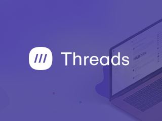 Threads case study graphic